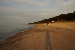 Strand in Zempin
