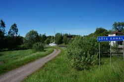 entlang dem Göta Kanal