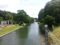 Kanal für die Schiffahrt
