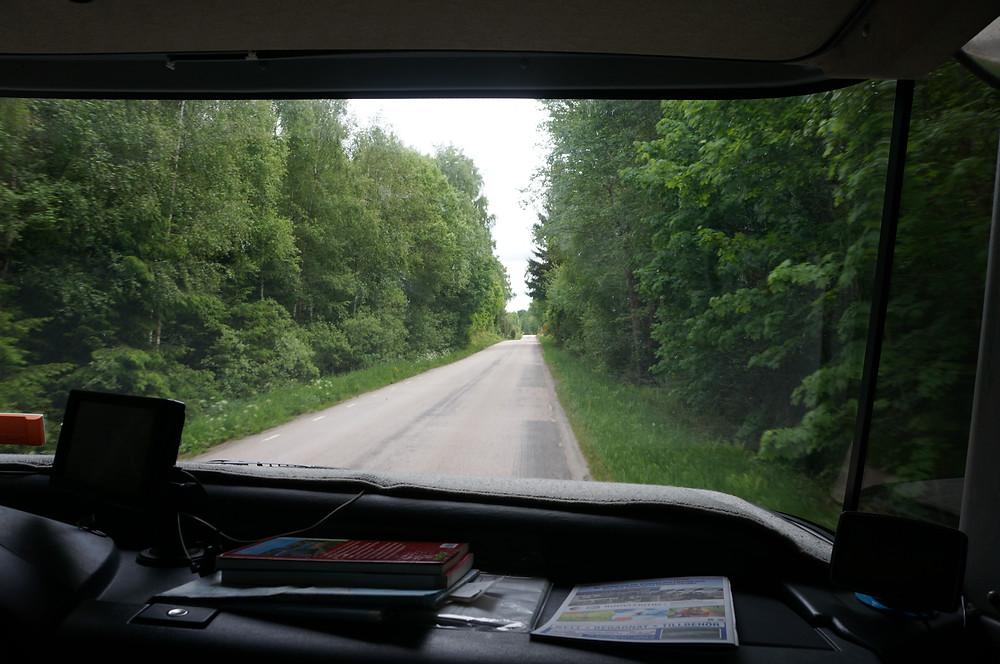 30 Kilometer durch schwedische Wälder
