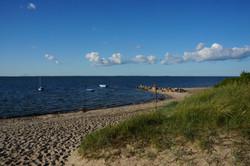Strand beim Camping