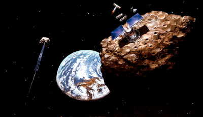 Mining in space...one day
