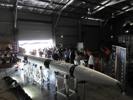 Gilmour Space unveils One Vision rocket ahead of suborbital test launch