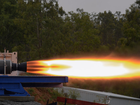 Australian rocket company achieves 70 kN thrust in world's largest single-port hybrid engine test