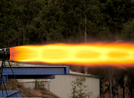 Gilmour Space prepares for suborbital hybrid rocket launch with 75 kN (16,900 lbs) test-fire