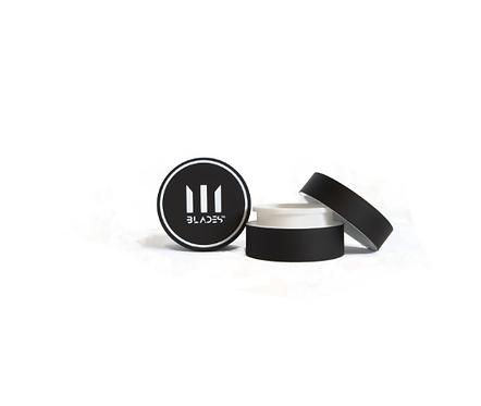 BLADES Pocket Wax Container 5ml BPA Free ~ White