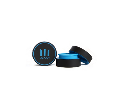 BLADES Pocket Wax Container 5ml BPA Free ~ Blue