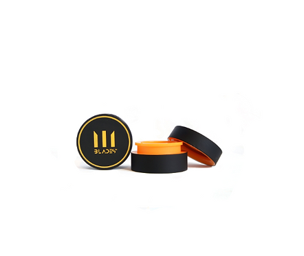 BLADES Pocket Wax Container 5ml BPA Free ~ Orange