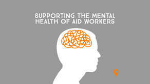 Supporting the Mental Health of Aid Workers