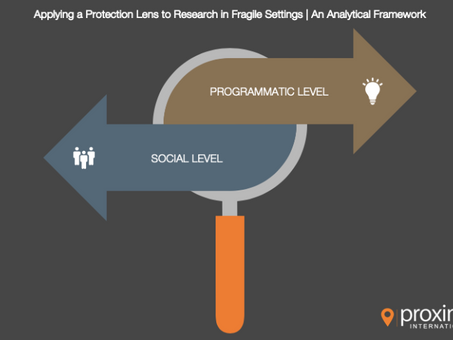 Protection Series Part 1 |  A Working Analytical Framework