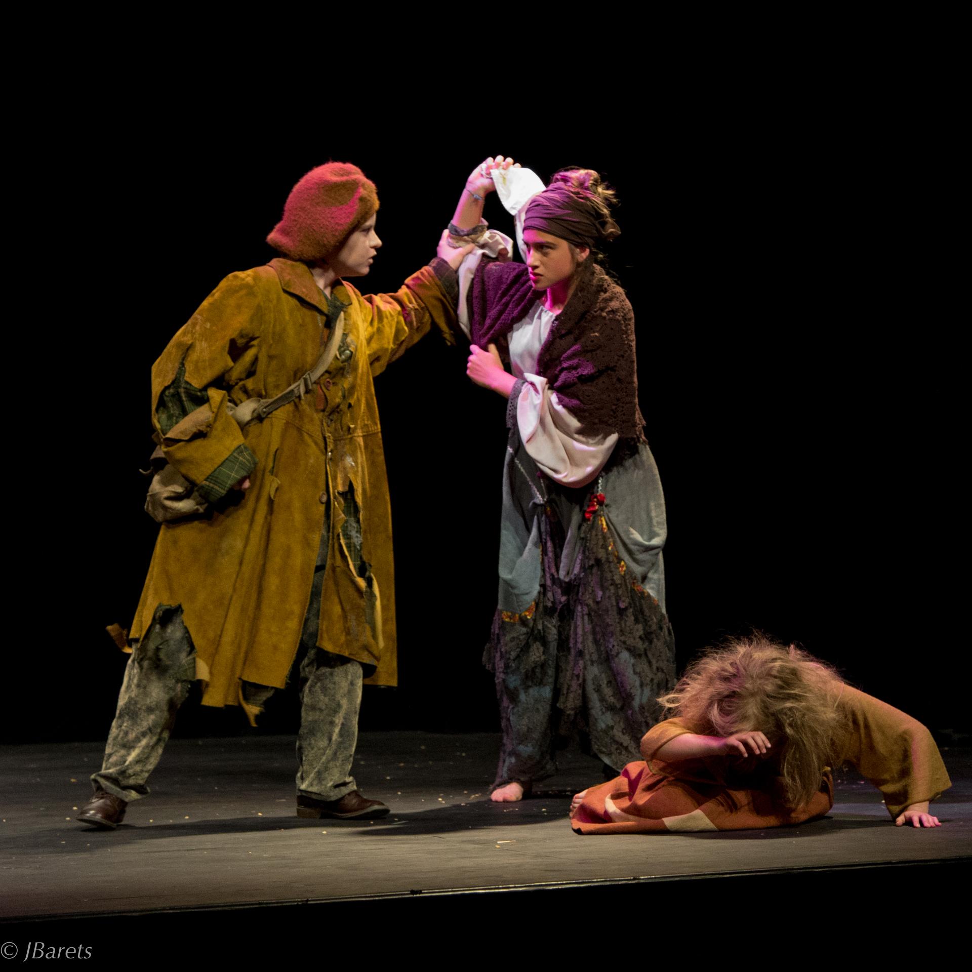 Jean Valjean et la Ténardier
