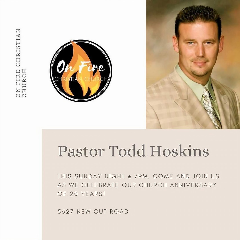 Pastor Todd Hoskins to OFCC