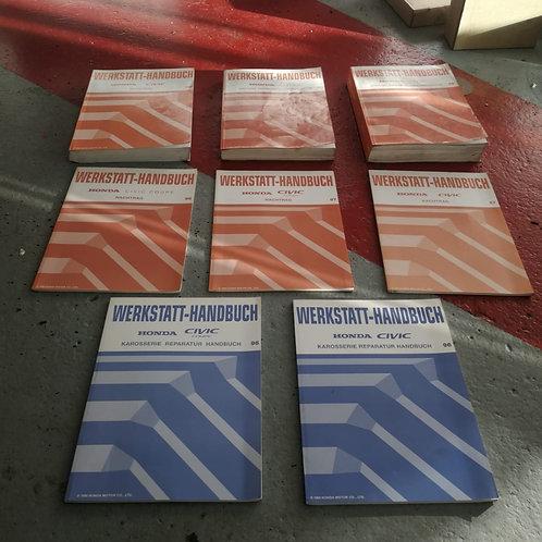 Werkstatt Handbücher - Honda Civic