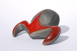 Anna Lüdi Keramik Coléoptère 1