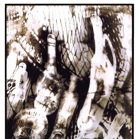 2001 - Részeg Üvegek 50x60 cm