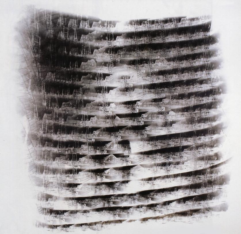 Gábor Enikő - Camera Reluxa I / 2000 / 95x102cm
