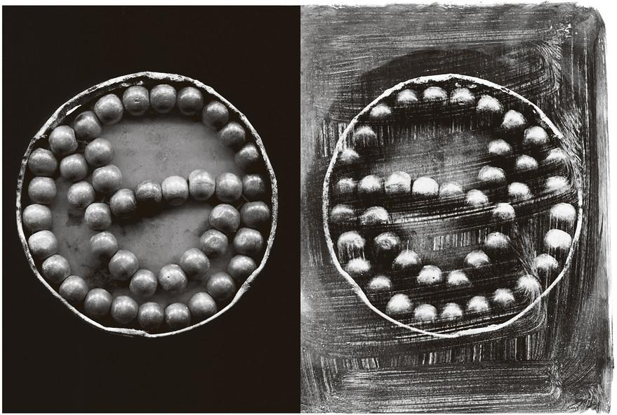 Gábor Enikő - Negyvenkét borsószem /2015/ 100x70 cm