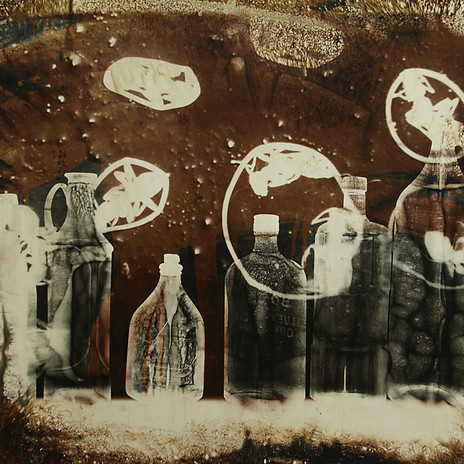 1998 - Hangyacsapda 68x100 cm, két rétegű fotogram