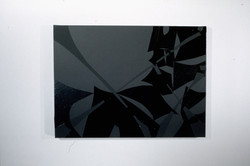 Black Study #06   22x31in   2002
