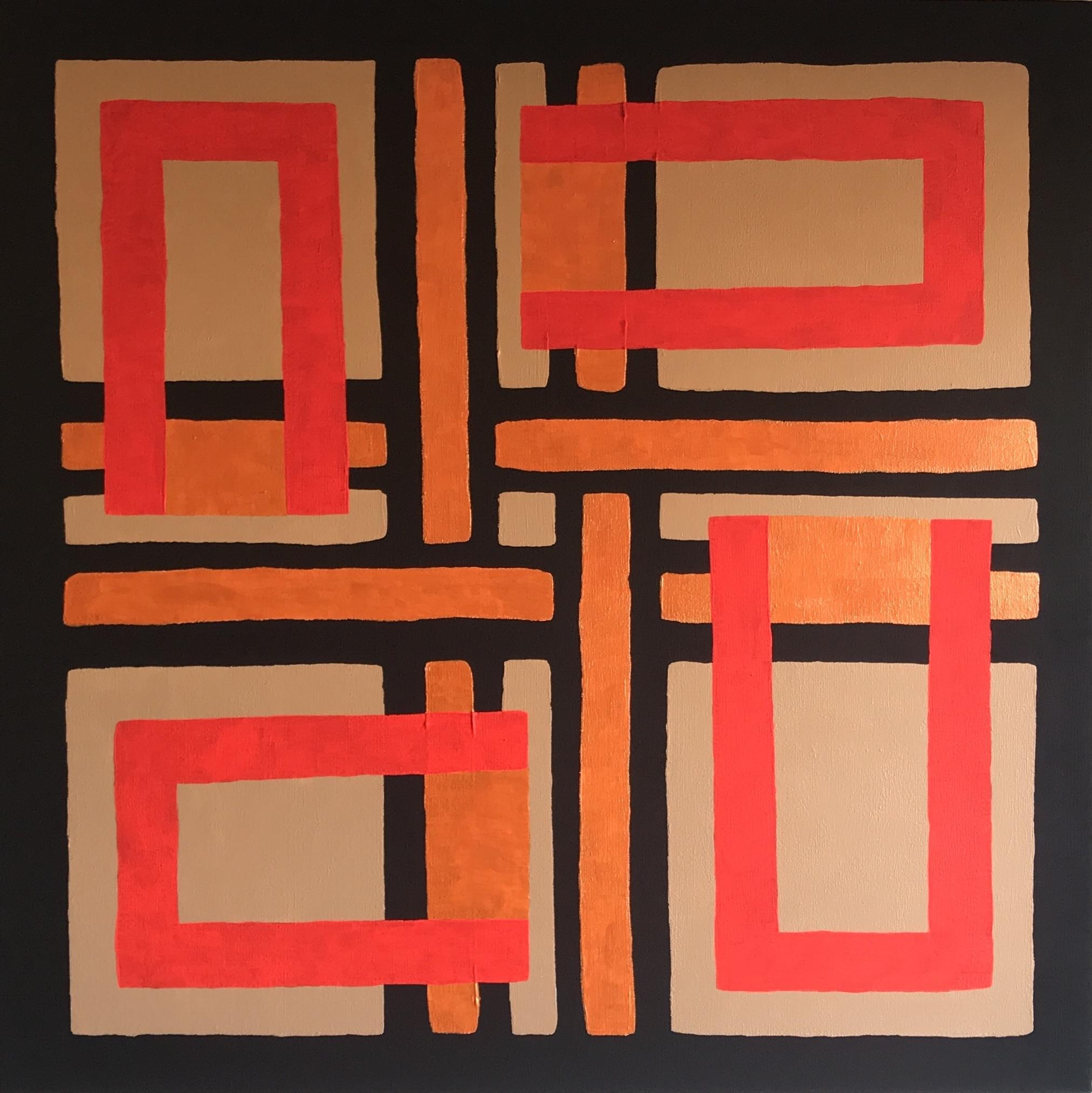 For Jordan Peele & Kathryn Peters | 60x60cm | 2020