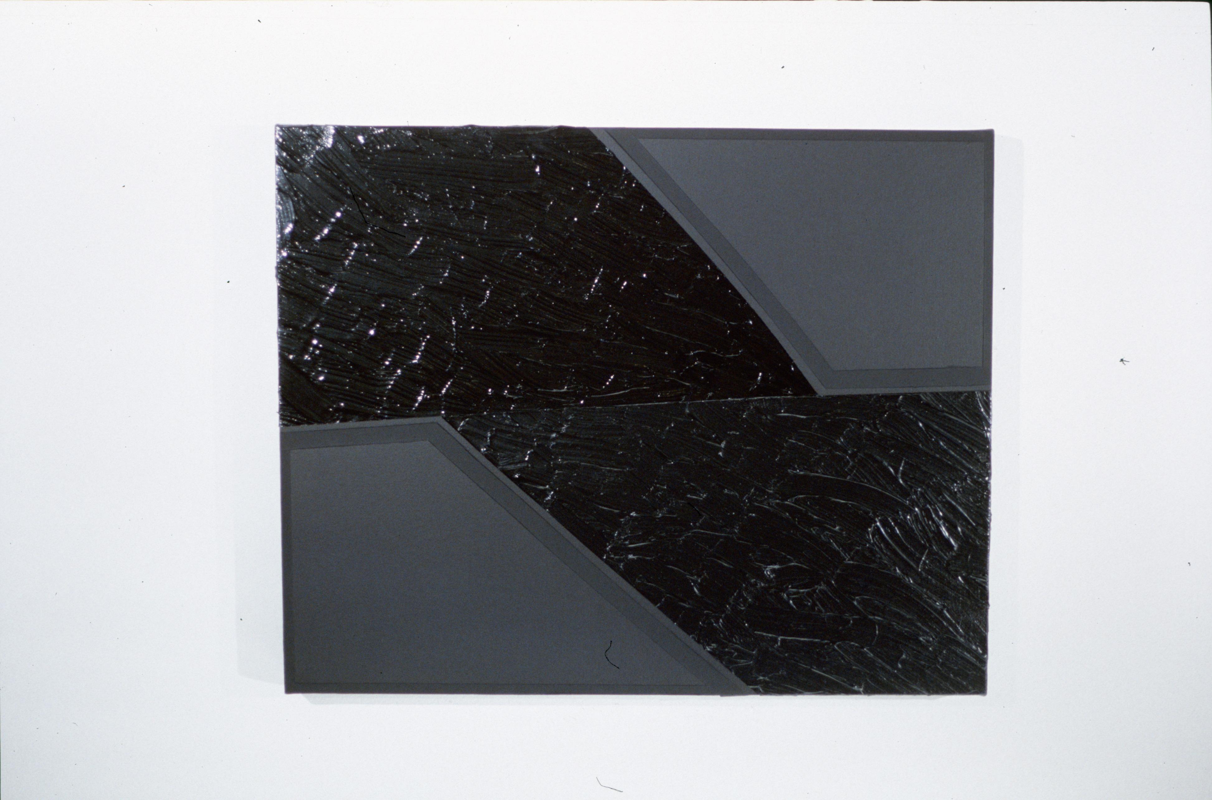 Black Study #02 | 30x24in | 2002