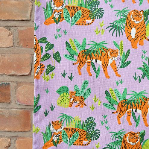 Tigers Printed Tea Towel