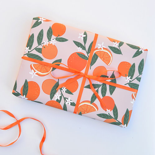 Sevilla Oranges Wrapping Paper