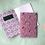 Thumbnail: Pink Jungle Leaves A5 Patterned softback notebooks