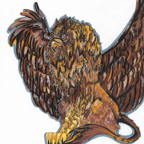 Bestiary #1: The Griffin