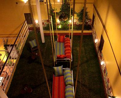 Interiors of Mangaldas ni Haveli II boutique hotel in Ahmedabad