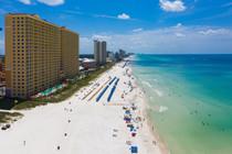 Panama City Beach - Drone Shot