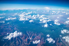Bakersfield, California Fly Over Shot
