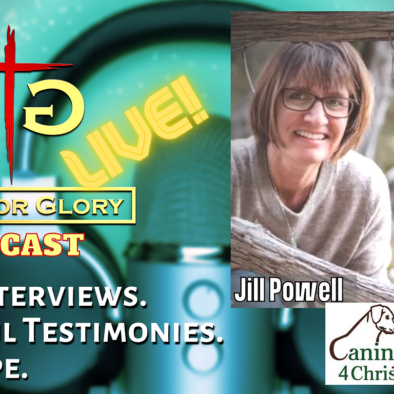 Jill Powell from Canines for Christ on Gifts for Glory LIVE!