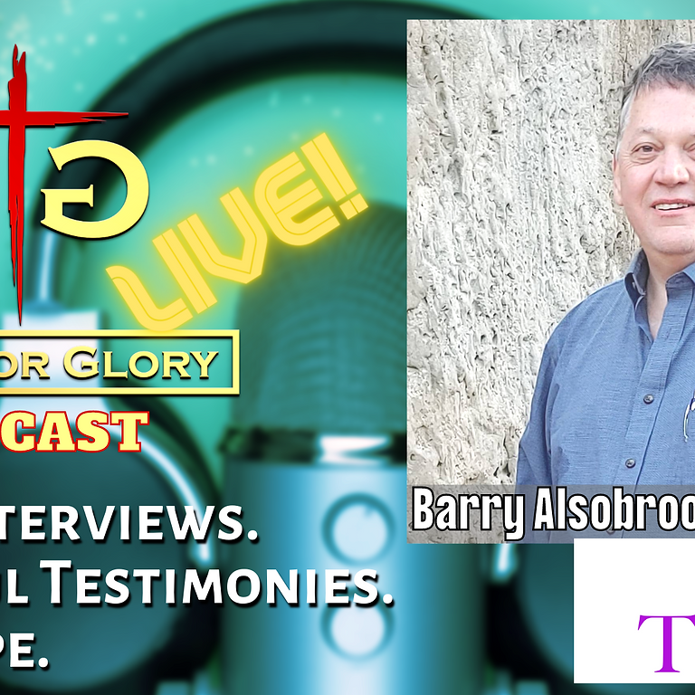 Barry Alsobrook from Taken TV on Gifts for Glory LIVE! (1)