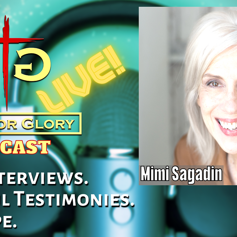Mimi Sagadin from Pulled from Darkness on Gifts for Glory LIVE! (1)