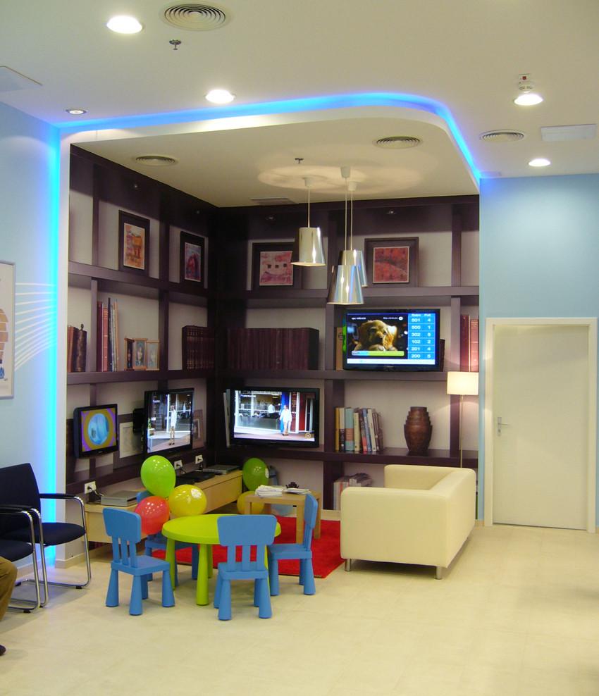 UPC iroda design kivitelezések