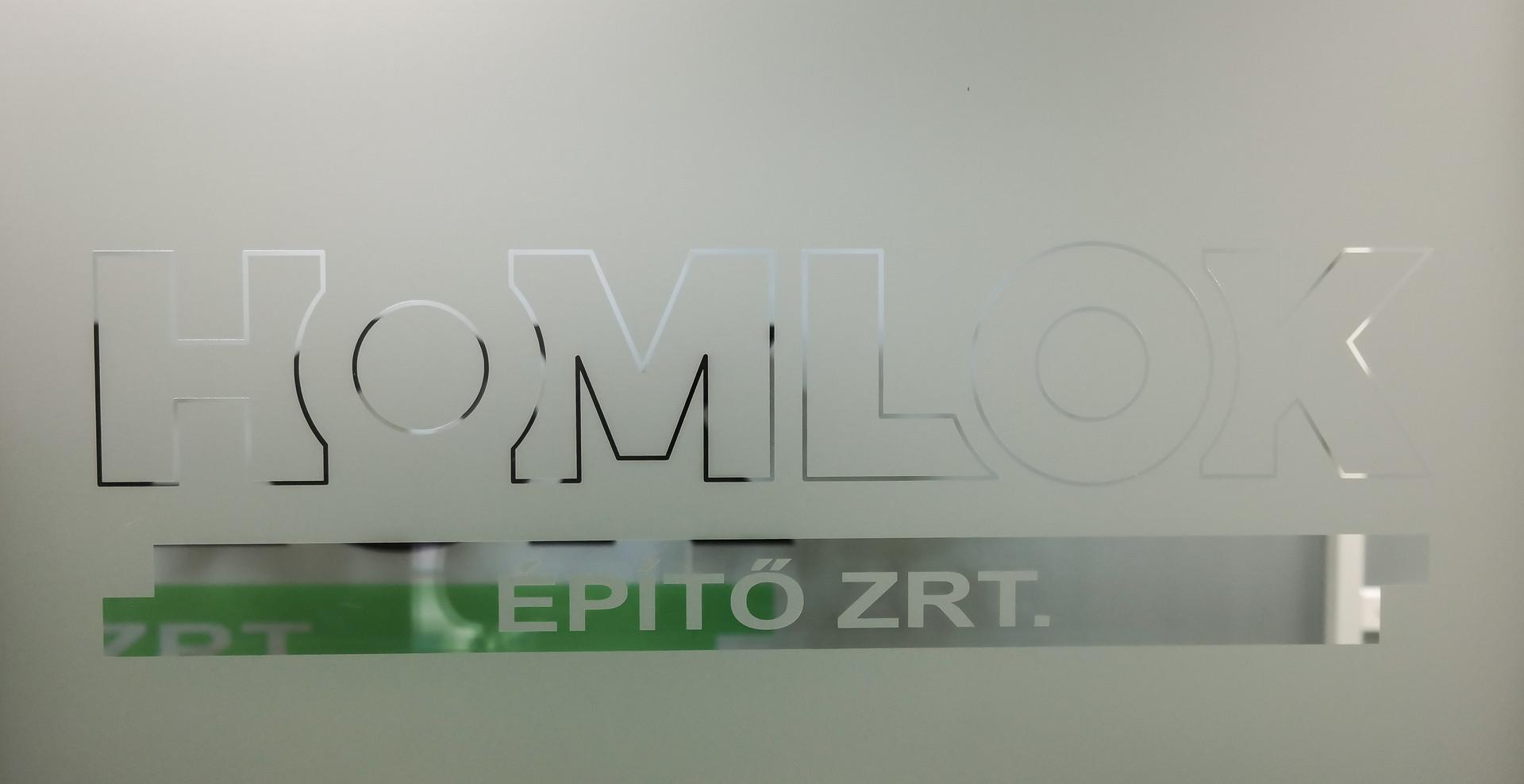 Homlok Zrt. iroda design - Megbízó: Flamingo 24 ügynökség