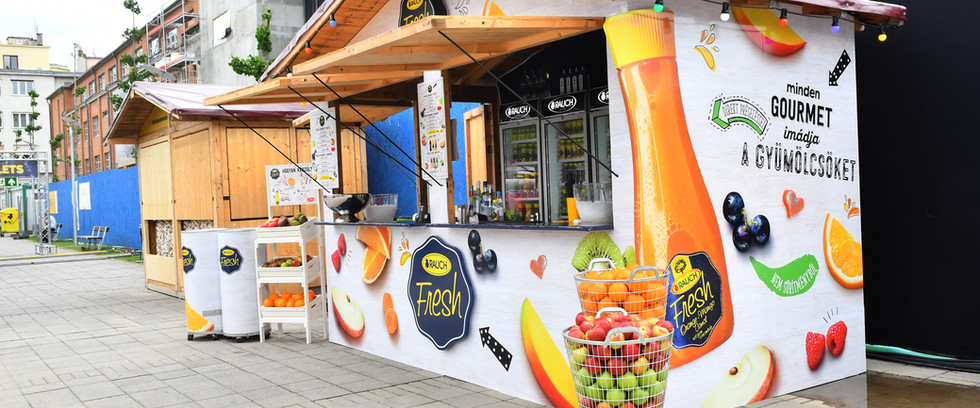 Gourmet Fesztivál - Rauch stand