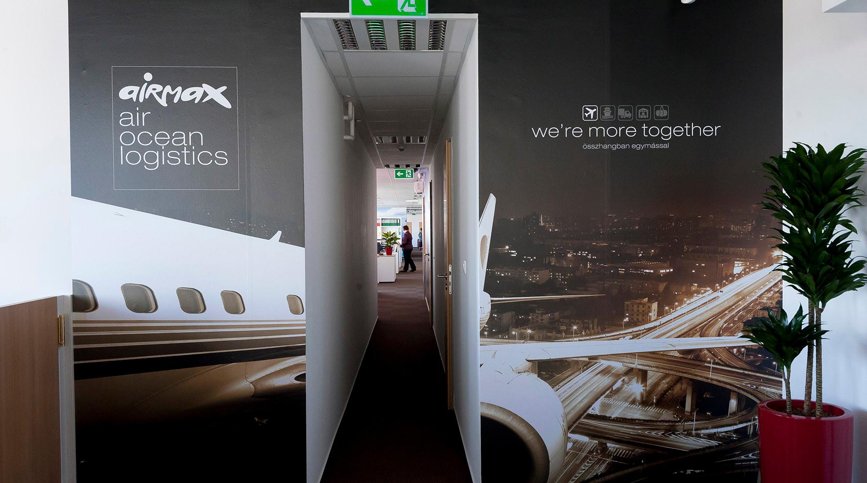 Airmax Cargo iroda design