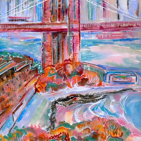 Autumn Under the Bridge