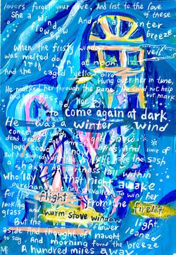 concrete poem-day 7 Robert Frost