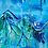 Thumbnail: Fjellene Rain Print