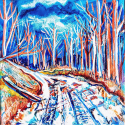 Mare-Simmons-art-snowy-road