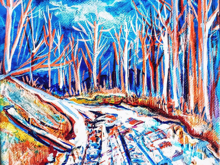 Art Inspiration: Winter in the Mountains