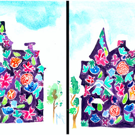 Flower Houses 1 and 2