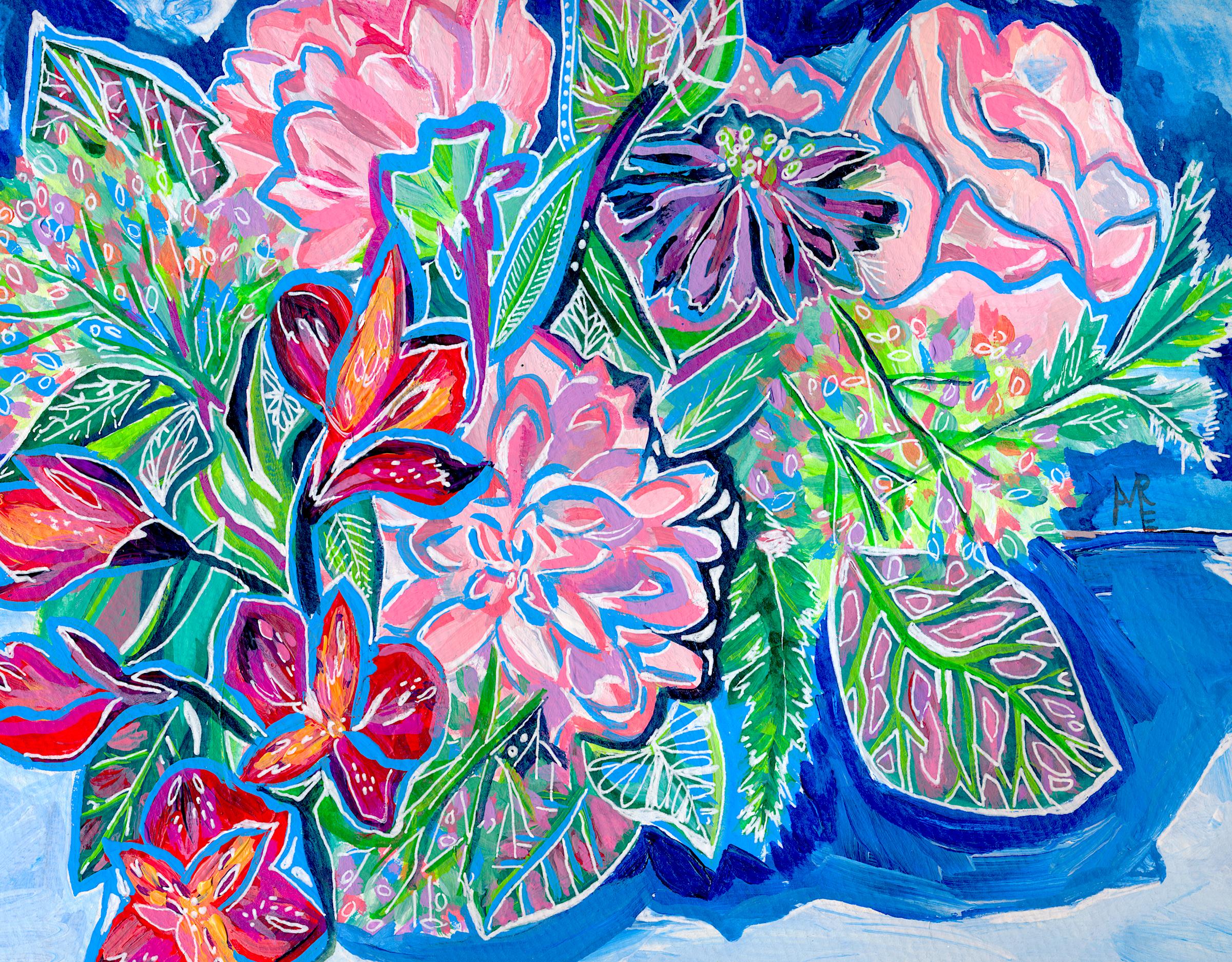 Rain Bouquet print web