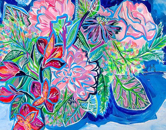 Rain Bouquet print