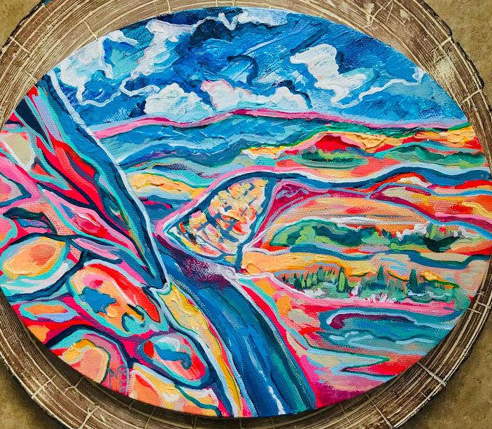 Zion-Sunset-original-painting