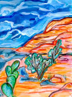 Gilded Desert nightfalll web