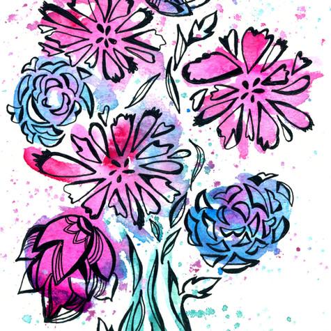 Floral Splash 01